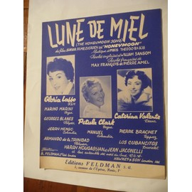 LUNE DE MIEL Pétula Clark Gloria Lasso