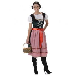 D�guisement Bavaroise Femme, Taille Medium