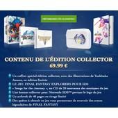 Final Fantasy Explorers - Edition Collector 3ds