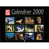 Calendrier 30 Millions D'amis Annee 2000 - 12 Splendides Photos D'animaux