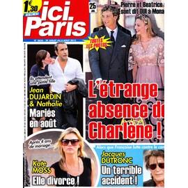 Ici Paris 3656 (Jean Dujardin / Kate Moss / Jacques Dutronc / Monaco)
