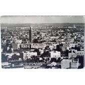 Carte Postale Casablanca - Vue Panoramique Sur La Ville Indig�ne (Photo V�ritable)