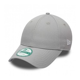 Casquette New Era 940 Basic Gris Incurv�e 9forty