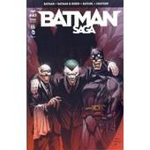 Batman + Batman & Robin + Batgirl + Grayson : Batman Saga N� 43 ( D�cembre 2015 ) de tom snyder & greg capullo / peter j. tomasi & patrick gleason / collectif ( couverture : andy kubert )