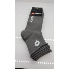 Lot De 3 Paires De Soquette Lotto Gris 39/42