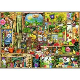 Puzzle 1000 Pi�ces Colin Thompson: Etag�re De Jardin