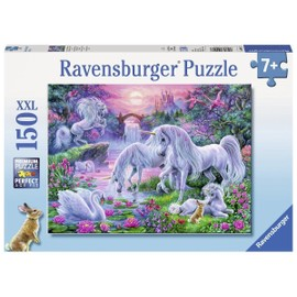 Puzzle 150 Pi�ces Pi�ces Xxl - Licornes Au Coucher Du Soleil