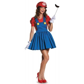 D�guisement Costume Lingerie Sexy Super Mario-Carnaval Halloween Soiree