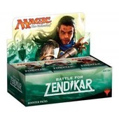 Magic Boite De 36 Boosters Bataille De Zendikar Vf