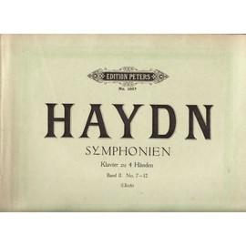 HAYDN SYMPHONIEN Peters n° 186b