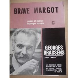 BRAVE MARGOT Georges Brassens