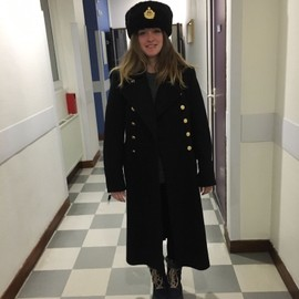 Manteau Officier Feminin Marine Urss