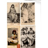 12 Cpa Femmes Du Maghreb