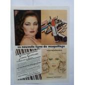 Publicit� Papier Ancienne (Avril 1981) Pour La Ligne De Maquillage