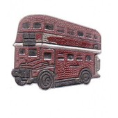 Pin's Bus Anglais Londres Angleterre Vieux Ref 1100