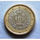 1 Euro Saint Marin 2009