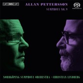 Pettersson: Symphony No. 9: Norrkoping Symphony Orchestra (Super Audio Cd Hybrid/Dvd Combo)