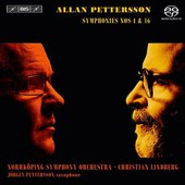 Pettersson: Symphonies Nos. 4 & 16: Norrkoping Symphony Orchestra (Super Audio Cd Hybrid W/ Dvd)