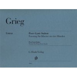 "Edvard Grieg Suites ""Peer Gynt"" - version pour piano quatre mains"