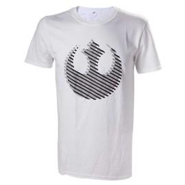 T-Shirt Star Wars Rebelles Logo 3d - Xl
