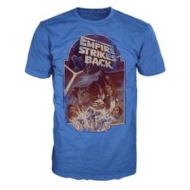 T-Shirt Star Wars Empire Strikes Back Bleu - M