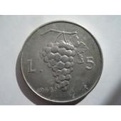 Italie 5 Lire 1948 R