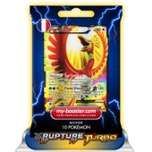 Ho-Oh Ex Full Art 121/122 180pv Xy09 Rupture Turbo - Booster De 10 Cartes Pokemon Francaises My-Booster