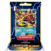 Mega M Leviator Ex 27/122 240pv Xy09 Rupture Turbo - Booster De 10 Cartes Pokemon Francaises My-Booster