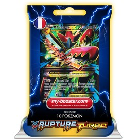 Mega M Cizayox Ex Full Art 120/122 220pv Xy09 Rupture Turbo - Booster De 10 Cartes Pokemon Francaises My-Booster