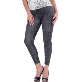 Leggings Qui Colle Jeans Imitateur Sexy Slim Mode Femmes
