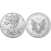 1 Oz Once 1 Dollar Silver Eagle 2015 Argent Pur 99.99% 31.10g Usa