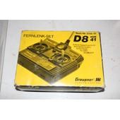 Radio Commande 41 Mhtz Graupner Jr Fernlenk-Set D8 Ssm 41 Pour Voiture, Avion, Bateau, Helicopter