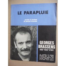 LE PARAPLUIE Georges Brassens