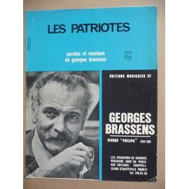 LES PATRIOTES Georges Brassens