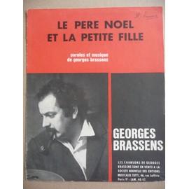 Le père noël et la petite fille Georges Brassens