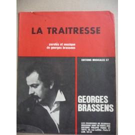 LA TRAITRESSE Georges Brassens