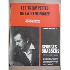 Les trompettes de la renommée Georges Brassens