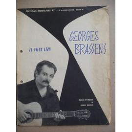 LE VIEUX LEON Georges Brassens