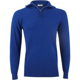 Pull Homme Yves Enzo Laine & Cachemire Col Camionneur