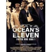 Ocean's Eleven - Faites Vos Jeux - George Clooney - Matt Damon - Andy Garcia - Brad Pitt - Steven Soderbergh - Affiche De Cin�ma Pli�e 60x40 Cm