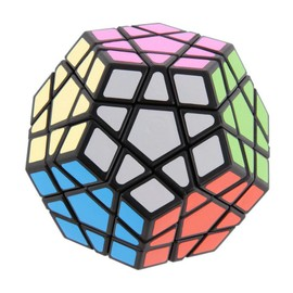 1pc Nouveau 12 C�t� Megaminx Magic Cube Puzzle Toy 3d Twist Cube Cadeau �ducation Multi-Couleur