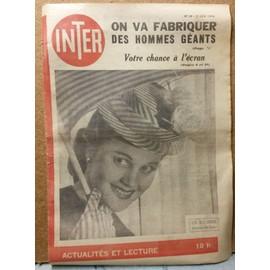 Inter 38 (Christiane Verger, Jean Bellus, Simone Renant)