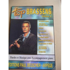 TOP BRASSENS Volume 1 dix chansons