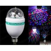 Ampoule Rotative Led A Vis E27 Jeu De Lumiere Bapteme Mariage Materiel Dj Fete Disco Sonorisation
