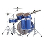 Batterie Pearl Export Rock 22'' Electric Blue Sparkle Avec Cymbales
