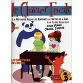 Le Clavier Facile Methode Pour Enfants (+Cd)- Benichou Pierre
