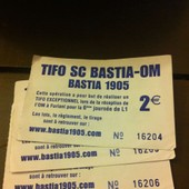 Ticket Tombola 1905 Sc Bastia Om Lot 3