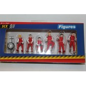 Figurines Rallyes Rouges
