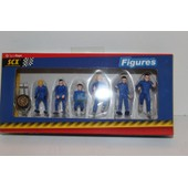 Figurines Rallyes Bleues