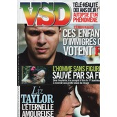 Vsd / 31-03-2011 N�1753 : Liz Taylor (6p) - Guy B�art / Pierre Perret (2p) - Georges Brassens (1p)